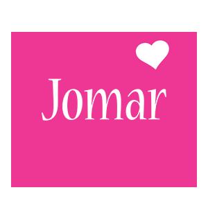 Jomar love-heart logo