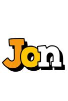 Jon cartoon logo