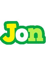 Jon soccer logo