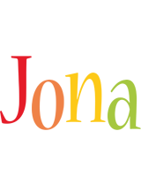 Jona birthday logo