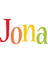 Jona birthday logo