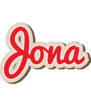 Jona chocolate logo