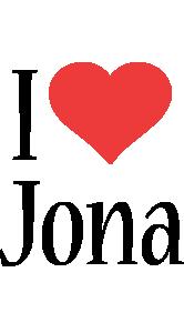 Jona i-love logo