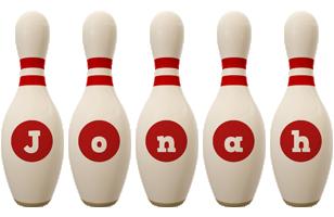 Jonah bowling-pin logo