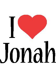 Jonah i-love logo