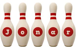 Jonar bowling-pin logo