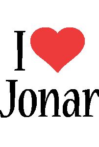 Jonar i-love logo