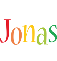 Jonas birthday logo
