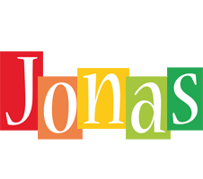 Jonas colors logo