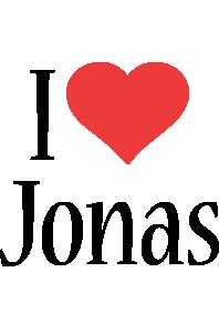 Jonas i-love logo