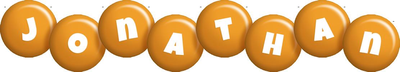 Jonathan candy-orange logo