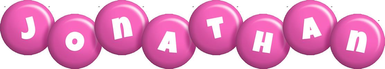 Jonathan candy-pink logo