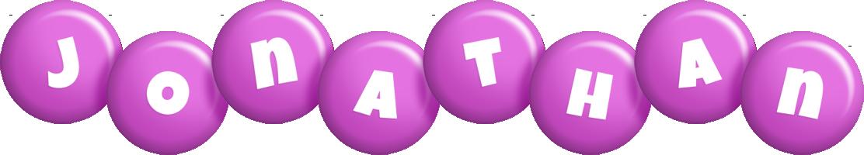 Jonathan candy-purple logo