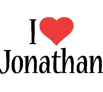 Jonathan i-love logo
