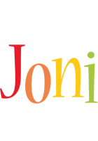 Joni birthday logo