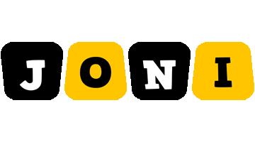 Joni boots logo