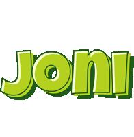 Joni summer logo