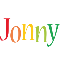 Jonny birthday logo