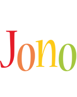 Jono birthday logo