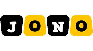 Jono boots logo