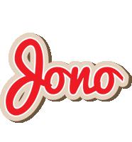 Jono chocolate logo