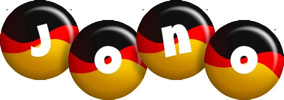 Jono german logo