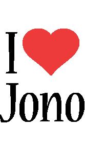 Jono i-love logo