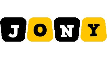 Jony boots logo