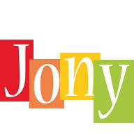Jony colors logo