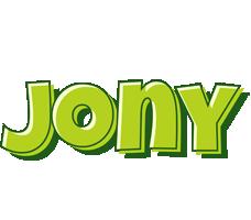 Jony summer logo