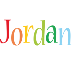 Jordan birthday logo