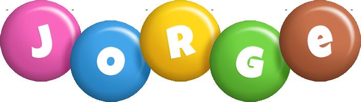 Jorge candy logo