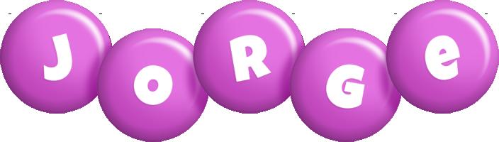 Jorge candy-purple logo