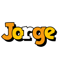 Jorge cartoon logo