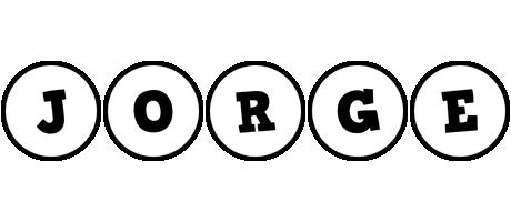 Jorge handy logo