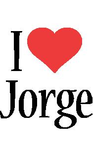 Jorge i-love logo