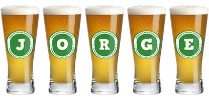 Jorge lager logo