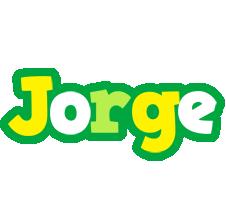 Jorge soccer logo