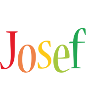 Josef birthday logo