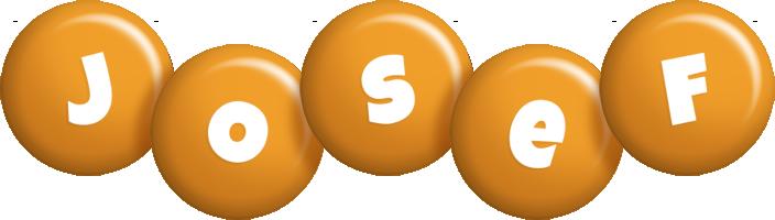 Josef candy-orange logo