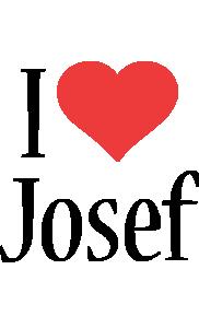 Josef i-love logo