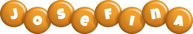 Josefina candy-orange logo