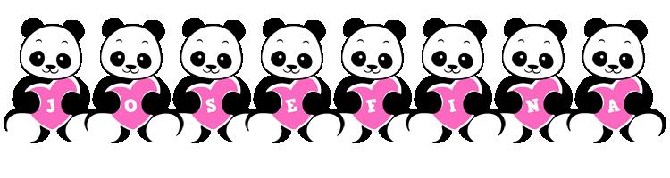Josefina love-panda logo