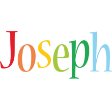 Joseph birthday logo