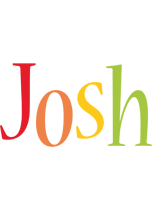 Josh birthday logo
