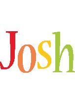 Josh birthday logo