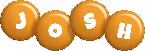Josh candy-orange logo