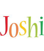 Joshi birthday logo