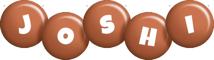 Joshi candy-brown logo