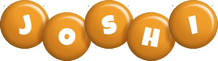 Joshi candy-orange logo